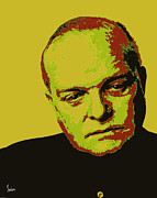 Capote Framed Prints - Truman Capote 2 Framed Print by Dennis Salon