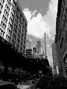 The El Framed Prints - Trump Tower Framed Print by David Bearden