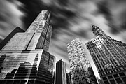 Sebastian Musial Art - Trump Tower in Black and White by Sebastian Musial