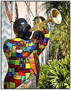 Trumpeter Photos - Trumpeter by Jon Berghoff