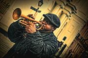 Kathleen K Parker - Trumpeting in the Rain Vintage French Quarter