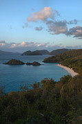 Stephen  Vecchiotti - Trunk Bay At Sunset