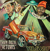 Rap Music Painting Originals - Trunk Muzik Returns by Britt Kuechenmeister