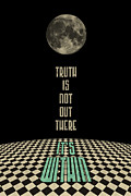 Instagood Posters - Truth Is Not Out There Its Within Poster by Deepti Munshaw