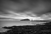 Nautical Art Framed Prints - Trwyn Du Lighthouse I Framed Print by David Bowman