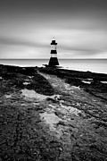 Nautical Art Prints - Trwyn Du Lighthouse II Print by David Bowman