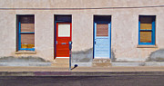 Tucson Arizona Doors Print by Gregory Dyer