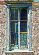 Tucson Arizona Window Print by Gregory Dyer