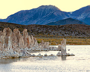 Calcium Framed Prints - Tufa Towers Mono Lake CA Framed Print by Troy Montemayor