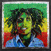 Bob Sculptures - Tuff Gong by Chris Mackie