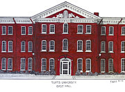 Other Famous University Campus Buildings - Tufts University by Frederic Kohli