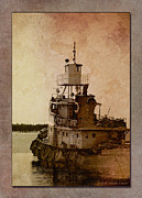 Wb Johnston Framed Prints - Tug Framed Print by WB Johnston