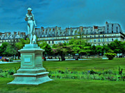 Tuileries Gardens Print by Allen Beatty