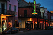 Kathleen K Parker - Tujagues at Night in New Orleans