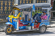 Sleeping Person Posters - Tuk tuk snooze Poster by Antony McAulay