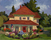Helen Originals - Tukwilla Farm House by Diane McClary