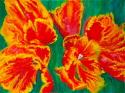 Tulip Days Print by Tracey Peer