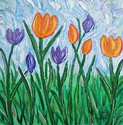 Molly Roberts - Tulip Garden