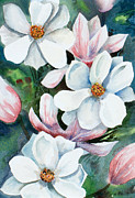 Tulip Tree Print by Kristine Plum