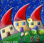 Rhyme Originals - Tulips And Stars by Raffaella Di Vaio