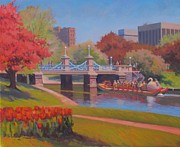 Dianne Panarelli Miller - Tulips in Bloom