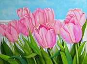Carol Sabo - Tulips In My Garden