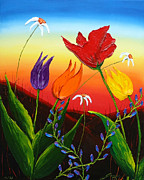 James Dunbar - Tulips Of Woodburn Oregon