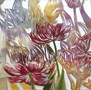 Alfred Ng - tulips watercolor cut out