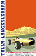 Rally Posters - Tulln langenlebarn Formula 2 1967 Poster by Nomad Art And  Design