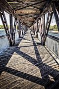 Tulsa Pedestrian Bridge Print by Tamyra Ayles