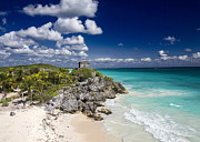 For Ninety One Days - Tulum Maya Ruin Beach
