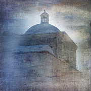Iconic Structures Prints - Tumacacori Afternoon Print by Sandra Bronstein