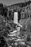 Deschutes River Prints - Tumalo Falls Print by Christian Heeb