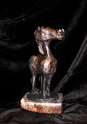 Horse Sculpture Prints - Tumbleweed Print by Charlie Spear