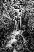Glen Etive Photos - Tumbling water by John Farnan