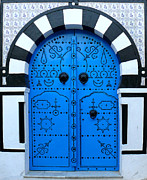 Jeanne  Woods - Tunisian Blue Door