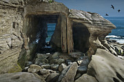 Randall Nyhof - Tunnel at La Jolla Cove in California No. 0178