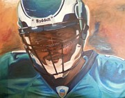 Michael Vick Paintings - Tunnel Vision by Willie Porter