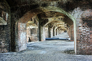 Tunnels Prints - Tunnels of Fort Jefferson Print by Alison Tomich
