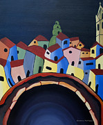 Guanajuato Paintings - Tunnels of Guanajuato by Barbara McMahon
