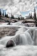 Sausalito Prints - Tuolumne River and Unicorn Peak Print by Chris Frost