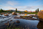 Mike Lee Metal Prints - Tuolumne River Metal Print by Mike Lee