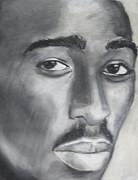 Tupac Print by Aaron Balderas
