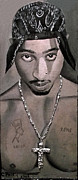 Cheryl Riley - Tupac painting