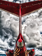 Blue Tail Prints - Tupolev Tu-154  Print by Stylianos Kleanthous