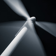 Wind Turbine Photos - Turbine by David Bowman