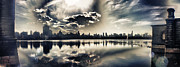 New York Art - Turbulent Afternoon by Nishanth Gopinathan