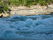 Niagara River Prints - Turbulent Waters Print by Brandie Marshall