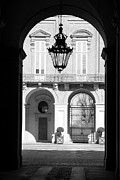 Turin Photo Prints - Turin Palazzo Reale Main Entrance Print by Valentino Visentini