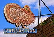 Turkey Digital Art Metal Prints - Turkey Inn Metal Print by Ron Regalado